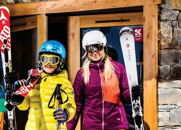 is for experienced, demanding skiers looking to maximize