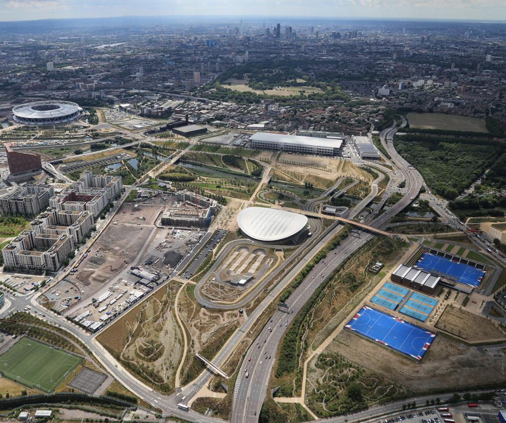 QUEEN ELIZABETH OLYMPIC PARK FOUR YEARS ON One of the key messages during London s bid to stage the 2012 Olympics and Paralympics was how the games would act as a catalyst for the regeneration of