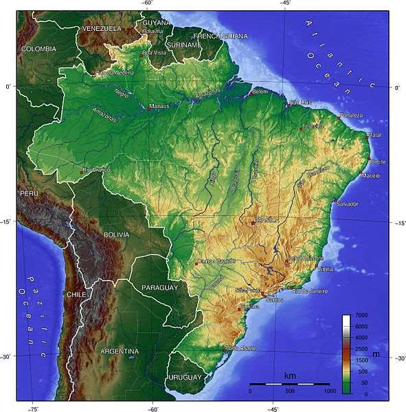 6m 11 m Likewise Brazil 6 m has a tropical 4 m high tide low