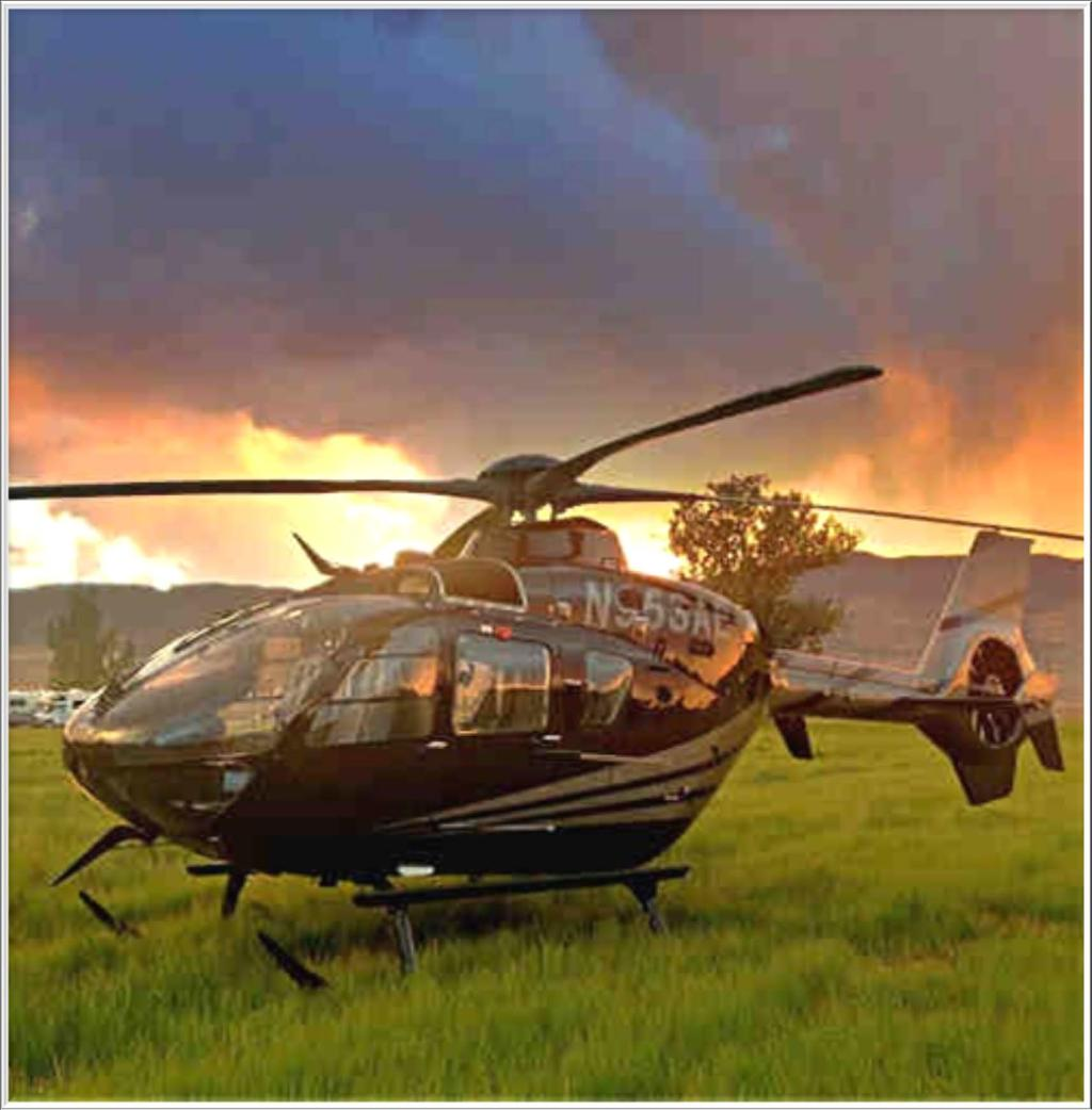 Live Auction - Helicopter Experience A day you will never forget.