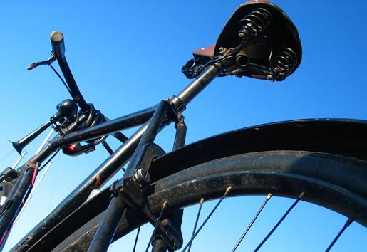 The Bike Most commuters choose a mountain bike or hybrid.
