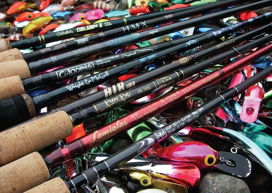 Gear Review eric martin photo Steelhead Plug Rods As popular runs become heavily pressured, many anglers have gone back to running plugs and are being handsomely rewarded.