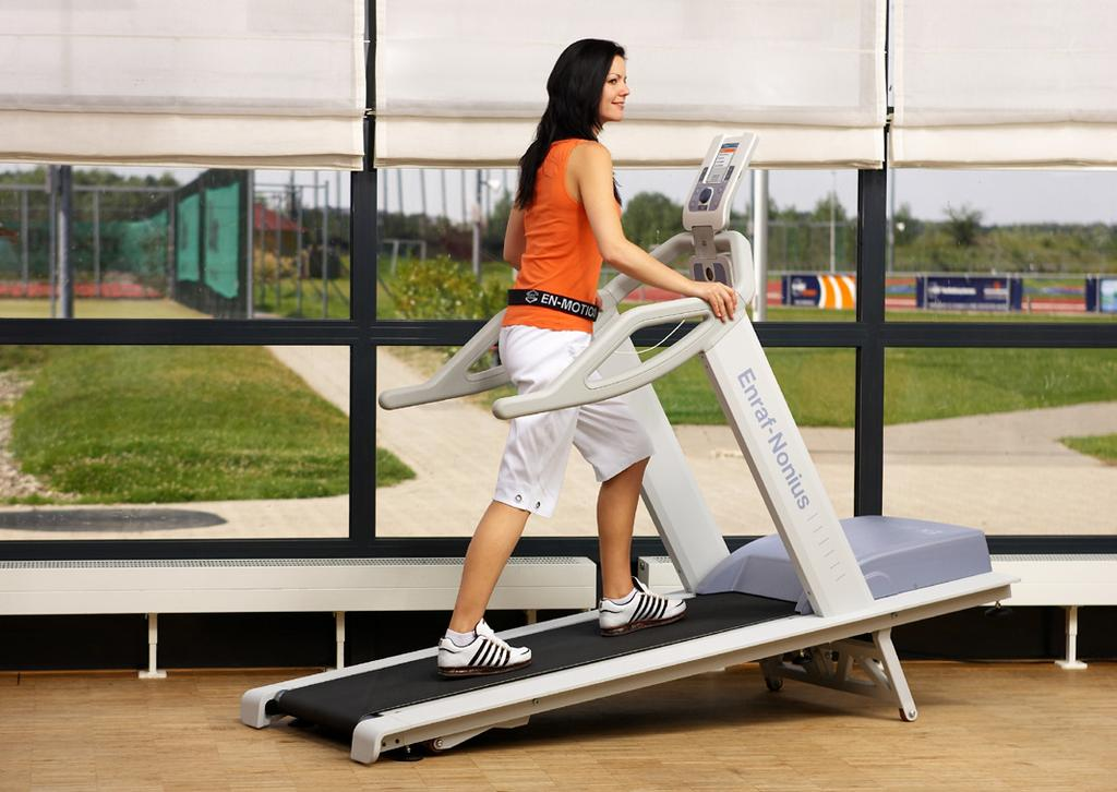 The EN-Motion treadmill is a valuable asset to the physiotherapy and rehabilitation world.