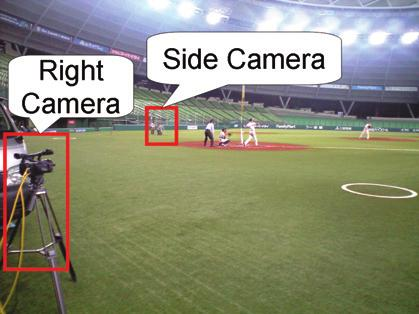 First, the obstacle area is overlaid by background image onto the image of the center camera as shown in Fig. 11(b).