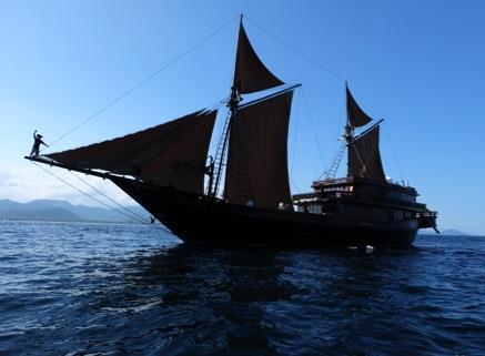 ALILA PURNAMA SAMPLE ITINERARY KOMODO EXPEDITION 6 Nights/ 7 Days Embark on an adventure to the islands and waters in and around the Komodo National Park.