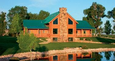 Western colors, our cabins offer a variety