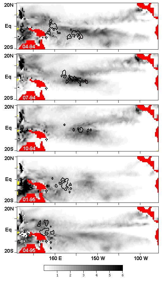 Impact of ENSO on surface tuna habitat 7 Figure 4.