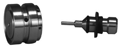 ROLLING DIAPHRAGM (KEY 38) ROLLING DIAPHRAGM (KEY 38) POPPET (STEM) (KEY 42) POPPET (STEM) (KEY 42) CROSS-DRILLED HOLE CROSS-DRILLED HOLE W8162 O-RING (KEY 39) PISTON (KEY 37) W8162 O-RING (KEY 39)