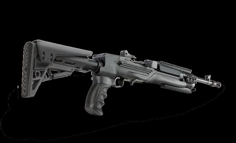 NEW 2015 TactLite ON RIFLE MINI 14 / MINI THIRTY Cheekrest options Both options included with TactLite Stock DuPont