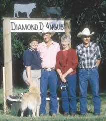 The family tree Don and Janet DeBoo, owners of Diamond D Angus Ranch (along with their son, Mark; his wife, Vicki; and their children, Tiffany, 16, and Brandon, 14) have a long family history in the