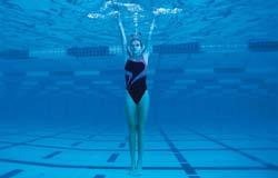 They are not made for underwater swimming and should not be used when you are submerging to a depth of 5 feet or more.