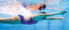 Arm Stroke The arm stroke for the breaststroke is a sweeping and scooping circular motion. Breaststroke: Power Phase (Arms) Fig.