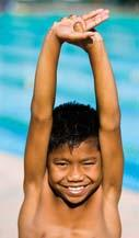 alignment when entering the water reduces both form drag and the risk of straining muscles or joints.