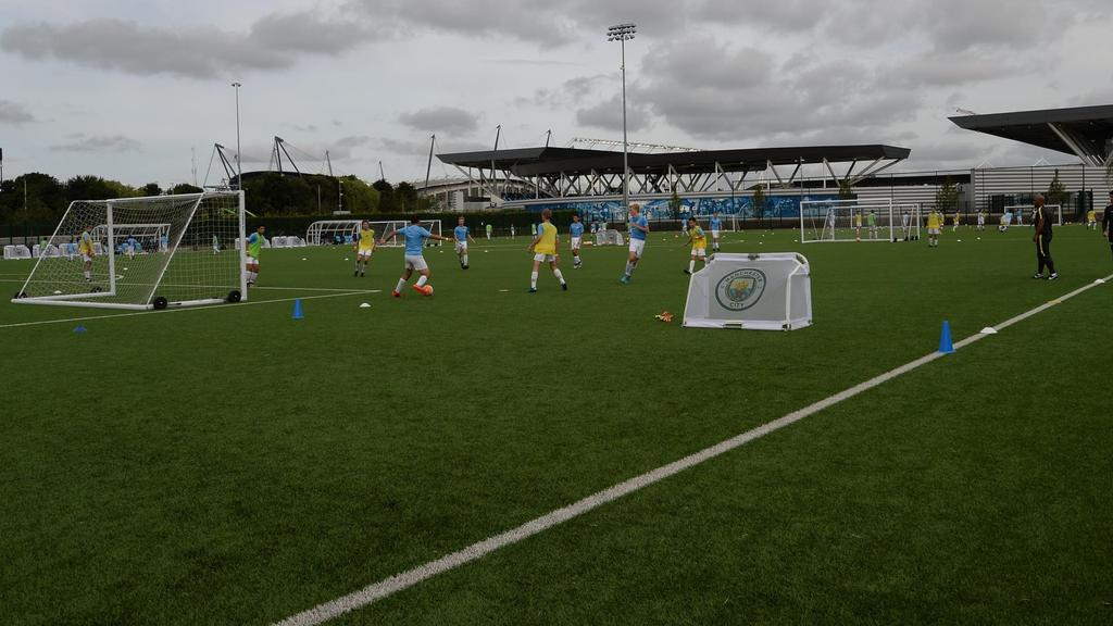 Play Beautiful Football 3 hours of football training per day Follow City Football Schools authentic training philosophy and methodology Focus on
