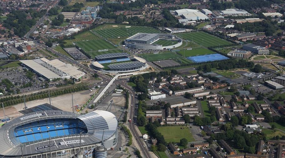 World-class facilities You will train at the City Football Academy, an
