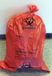 PROPER DISPOSAL Certain bio-hazardous waste can be disposed of in regular trash once it has been rendered non-infectious through auto-claving.