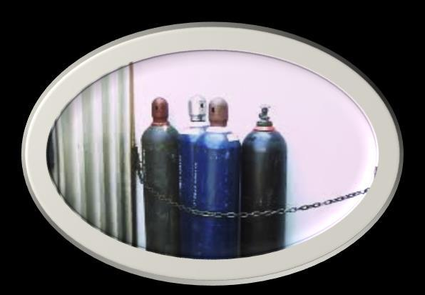 COMPRESSED GAS SAFETY Compressed gases can be both chemically and physically hazardous. Compressed gases can be flammable, toxic, reactive, corrosive, or a simple asphyxiate (displaces oxygen).