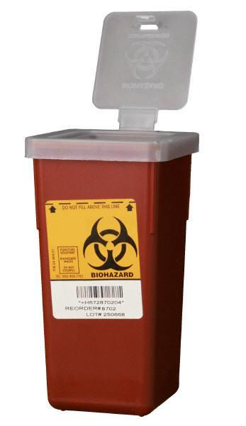SHARPS - SAFE PRACTICES When the sharps container is full it must be collected by the UEHS office.