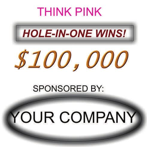 Investment: $3 $, Shootout Sponsor - TWO players get the opportunity to hit one shot from 65 yards for $,.