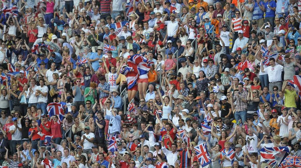 *Repucom International 2011 LONDON 2015 - EVENT REACH In venue England Hockey epects over 30,000 fans to attend the event. Hockey attracts an AB demographic, family spectator-base.