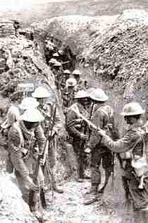 The Western Front The war became a stalemate- trench warfare Trenches were