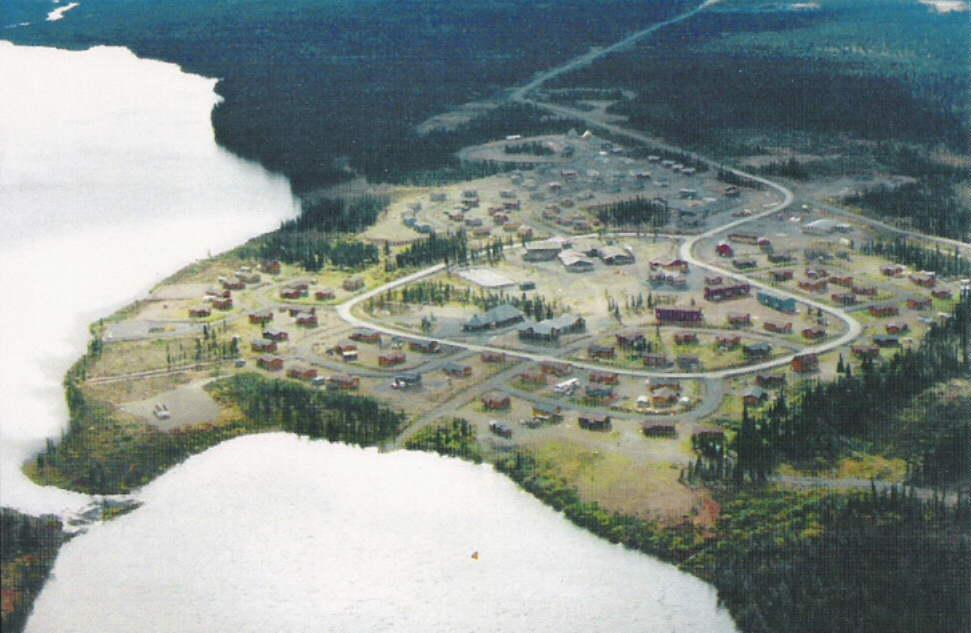 The Naskapis: Brief History 1956: Settled in Schefferville Area, Québec First at John Lake &