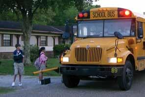 School Bus Safety: PRACTICE AT HOME! Safety Message: Children ages 9-10 are still learning what it means to be safe.
