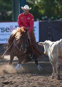 spins, slides and turns. Reining has been called the Western dressage and is always a crowd pleaser.