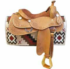 Fittings: When you buy an English saddle, all you get is... the saddle. You must purchase your stirrup leathers, stirrups, stirrup pads and girth separately.