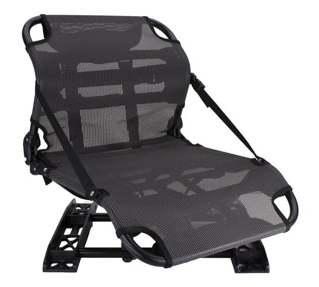 Modeled after high-end ergonomic seats, it provides ideal lumbar