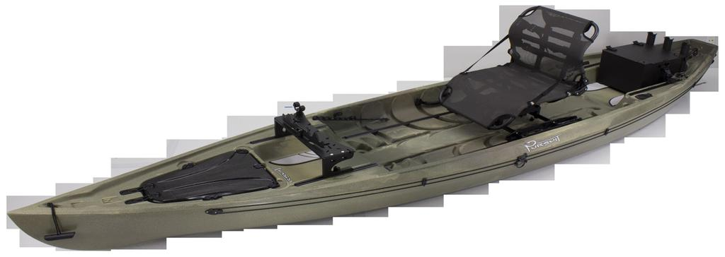 Mounts in Bow or Stern Freedom Tracks, faces forward or back, and compatible with