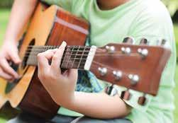 ADULTS BEGINNING GUITAR Ages 13 & older Learn the basics of reading music and playing chords on your guitar. Bring your guitar. No class June 17. 245509 June 3-July 29 Sat., 11 a.m.-noon Meadowood $108 ($88 Res.