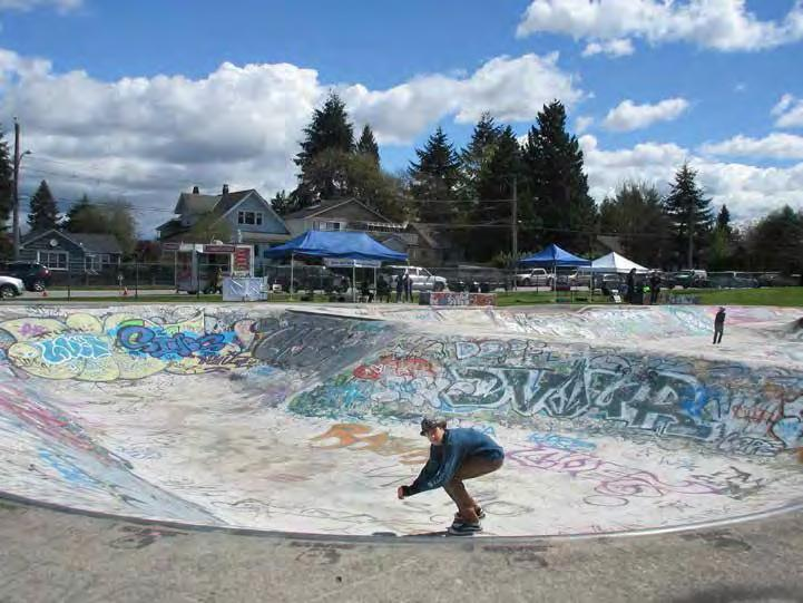 PURPOSE The City of New Westminster is using this opportunity to work with skaters and the community to learn about their ideas, interests and considerations for a new skatepark