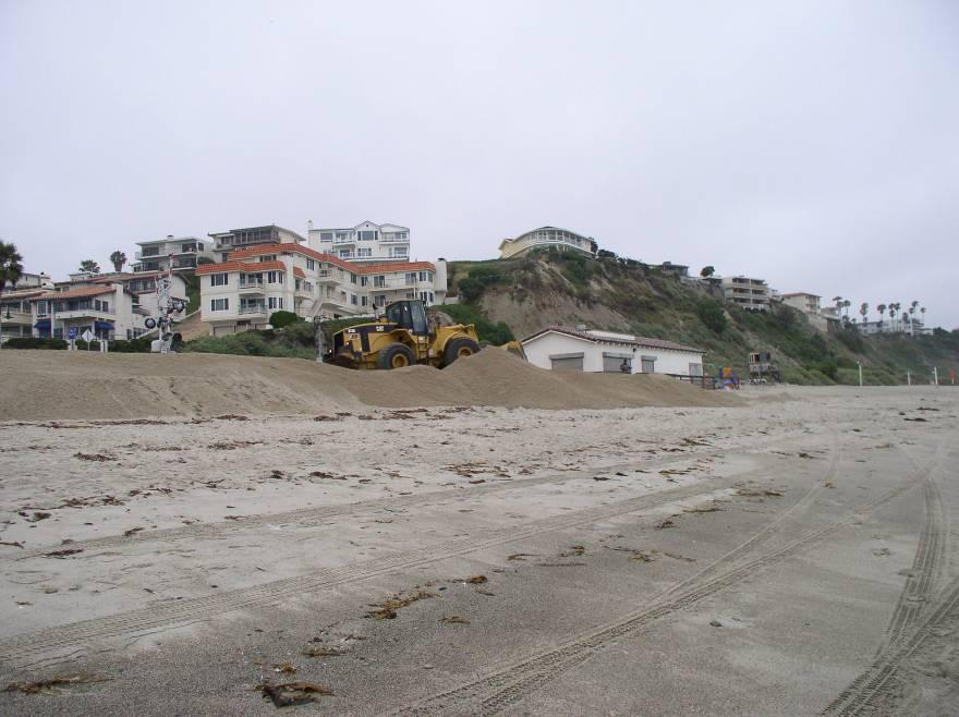 FIRST PROJECT BY SAN CLEMENTE Beach Berm