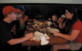 And with being in the Great Beer Hall of the restaurant, Yorick is able to keep it family friendly.