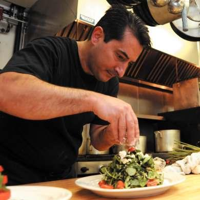 JULY 22, 2009 /PAGE 9 CHEF Q&A BY MARY BIGHAM WC DISH SOCIAL ITALIAN Q: So how many years have you been cook- ing? JIMMY S BBQ A: 25 years. Q: Whoa, whoa... how old are you? A: I m forty years old.