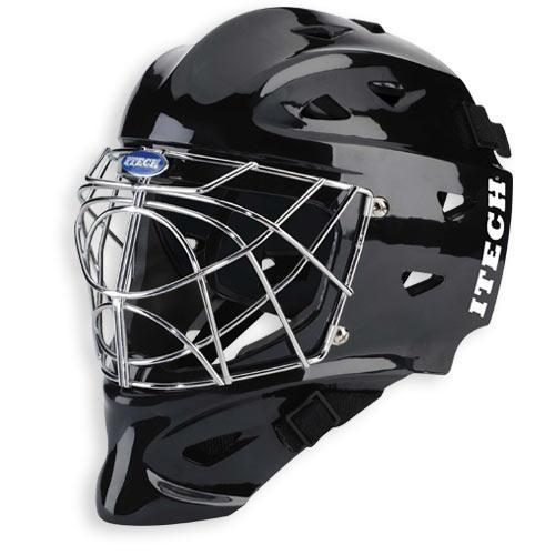 Guidance to team owners, coaches, managers and players: The goalies facial protection must meet CSA, HECC or CE standards. The mask must be constructed in such a way that a puck may not get through.
