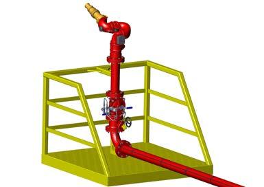 Deluge Systems Used to protect against rapid fire spread in special hazard locations, deluge systems are used in fixed fire protection systems, to provide large
