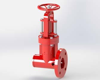 Isolation valves allow or prevent water flow, usually for maintenance or safety purposes, at specific sections of the fixed fire protection pipework, according to