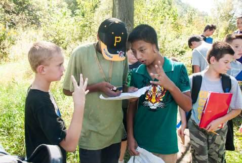 Explore the region while learning about its ecology with our Education Team!