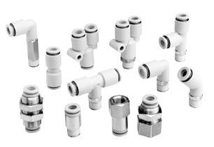 Series K2 Series K2: White body Series K : Black body Guide Collet Chuck Accepts nylon, and urethane tubes. as large retaining force.