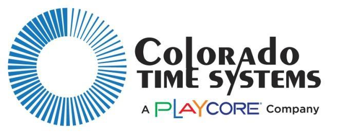 coloradotime.com Email: customerservice@coloradotime.