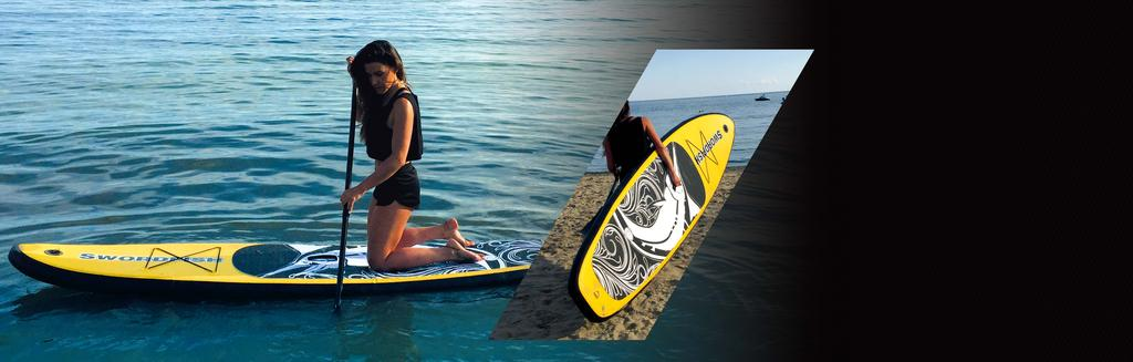 STAND-UP PADDLE Latest innovative technology for inflatable