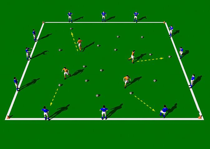 Week Five Drill Four Pressure Passing 3 Objective of the Practice: This practice is designed to improve the technical ability of the Push Pass with an emphasis on accuracy and explosive movement off
