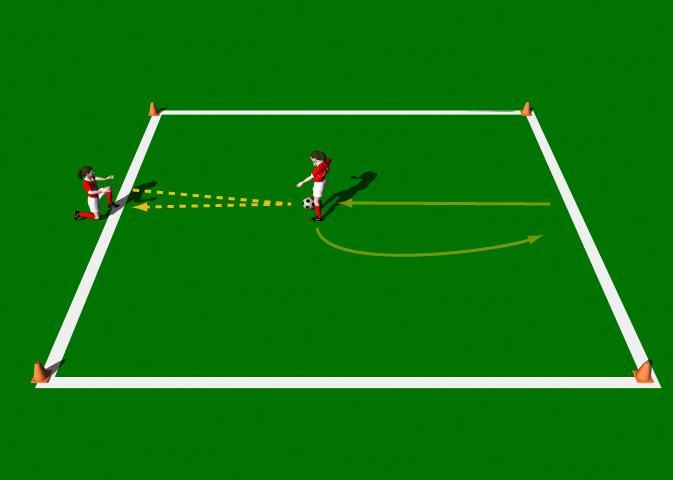 Week Nine Drill Three Control using inside of the Foot - on the Run Objective of the Practice: This practice is designed to improve each player s ability in ball control.