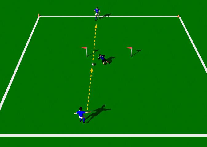 Week Eleven Drill One Shooting Both Sides Exercise Objectives: This practice is designed to improve the player s technical ability using the Low driven shot.