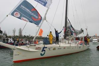 Bruce Schwab: America's Record-Setting Top Solo Sailor u First American ever to complete the Vendée Globe (2004 2005) u Fastest American solo circumnavigation record: 109 days, 19 hours, 58 minutes,
