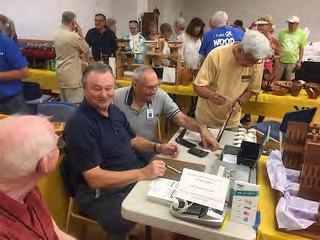SUN CITY WEST CRAFT FAIR The club had fifteen members selling and overall brought in almost $8,000.