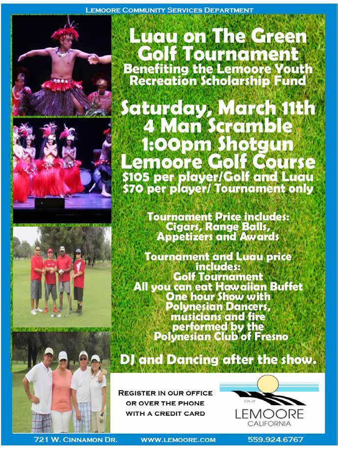 com Phone: (559) 924-6767 Golf Tournaments Lemoore Junior Open 9th Annual Kyle Simonson