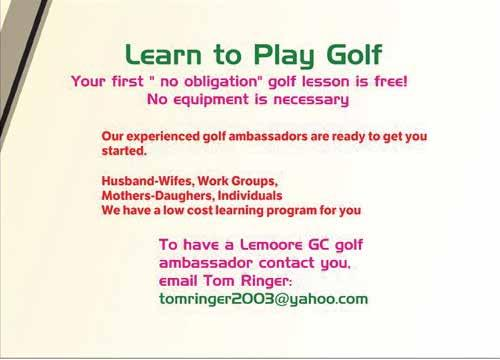 Please contact the Lemoore Municipal Golf Course with questions 559.924.